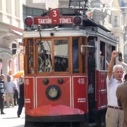 Le vieux tram' d'Istanbul