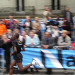 Abraham Niyonkuru, le vainqueur va beaucoup trop vite pour moi !