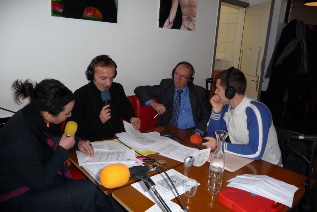 Ambiance Noël au Café du gaz avec Pascal Massiot aux commandes de l'émission