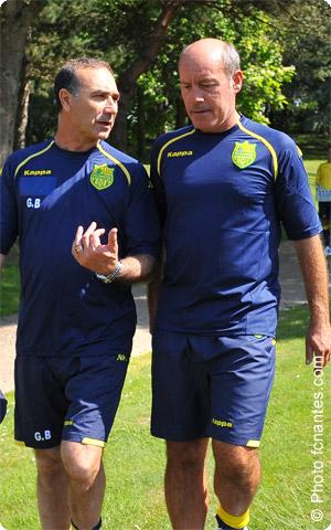 Le duo d'entraineur du FCN